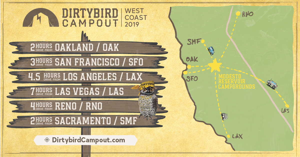 How to get to campout